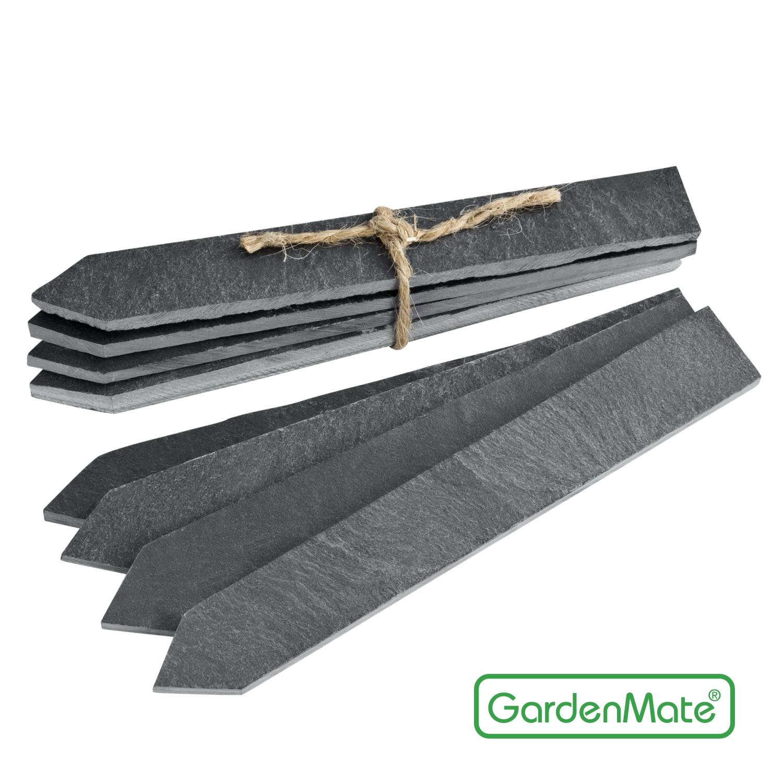 ihr gardenmate hersteller shop pflanzenschilder schiefer pflanzenstecker gartenstecker. Black Bedroom Furniture Sets. Home Design Ideas