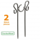 GardenMate® Set of 2 Decorative hose guides - 2 Stake-Design